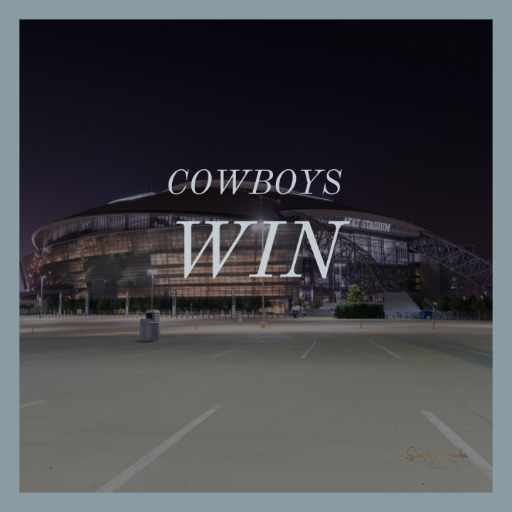 First Win of the Season: Dallas Cowboys beat the New York Giants20-13